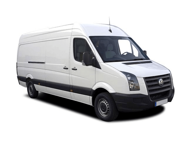vw crafter in white
